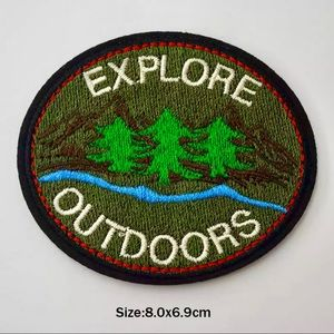 Accessories - Explore Outdoors Iron On Embroidered Patch